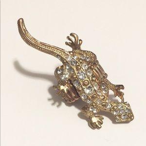 Vintage Lizard Ring